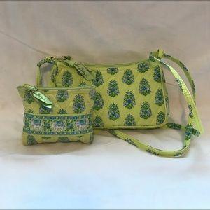 💖Vera Bradley Citrus Mini Purse & ZIP pouch